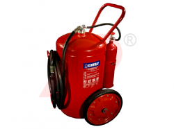 100kg ABC Cartridge Type Mobile Fire Extinguisher