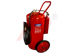 150kg ABC Cartridge Type Mobile Fire Extinguisher