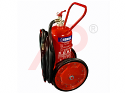 25kg ABC Stored Pressure Mobile Fire Extinguisher