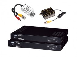 4-channel video signal transceiver