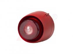Đèn còi báo cháy thường gắn trần lắp trong nhà
