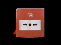 Nút nhấn khẩn thường lắp ngoài trời