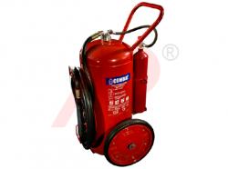 Bình chữa cháy xe đẩy bột ABC loại 75kg