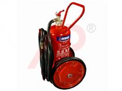 Bình chữa cháy xe đẩy bột ABC loại 25kg