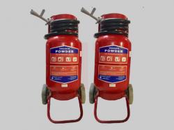 Bình chữa cháy xe đẩy bột ABC loại 35kg