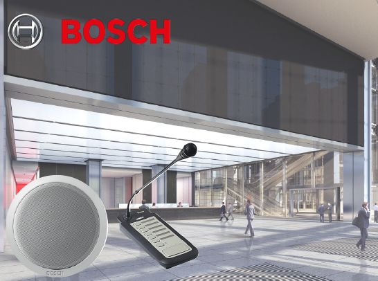 Bosch Public Address System (PA)