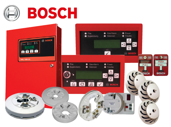 Bosch Addressable Fire Alarm System (UL)