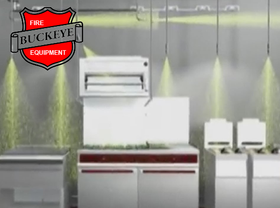 Buckeye Kitchen Mister Restaurant Suppression System